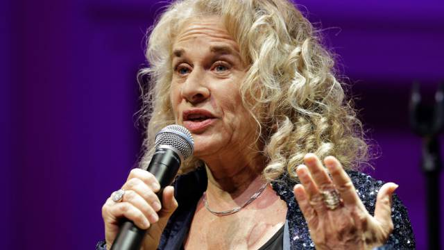 Die US-Musikerin Carole King