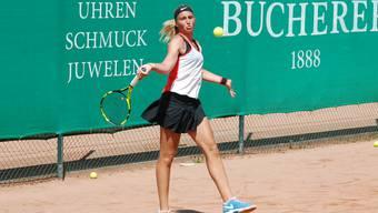 Kim Fontana gewann alle ihre Einzelpartien in dieser Saison für die NLB-Frauen des TC Zofingen.