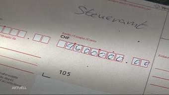 Säumige Steuerzahler sollen Aargauer Kantonskasse aufbessern
