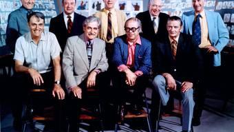 Diesen neun legendären Zeichnern widmet das Disney-Museum in San Francisco eine Ausstellung: Milt Kahl, Marc Davis, Frank Thomas, Eric Larson, Ollie Johnston, Woolie Reitherman, Les Clark, Ward Kimball und John Lounsbery.