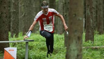 Im Mitteldistanz-Rennen übertrat sich Matthias Kyburz erneut den Fuss und musste sich danach mit dem 18. Rang begnügen.