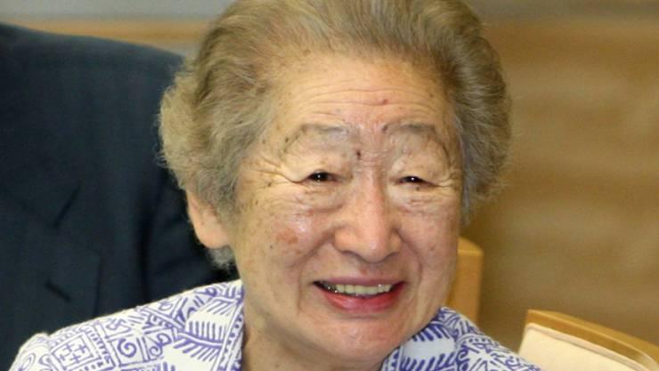Die langjährige Uno Hochkommissarin für Flüchtlinge Sadako Ogata im Jahr 2012.