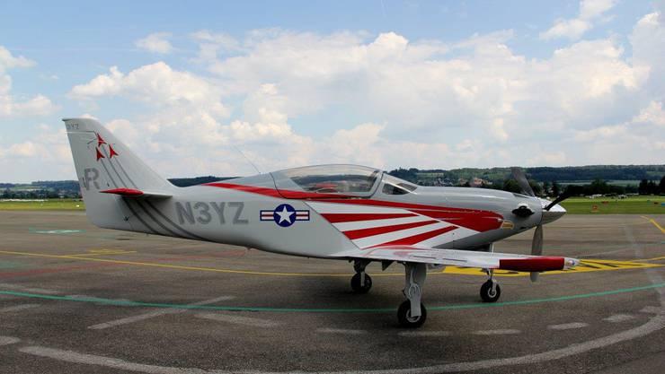 """Das Flugzeug vom Typ """"Turbine Legend""""  wird von einer 540-Kilowatt-Turbine angetrieben und ist bis 650 km/h schnell."""