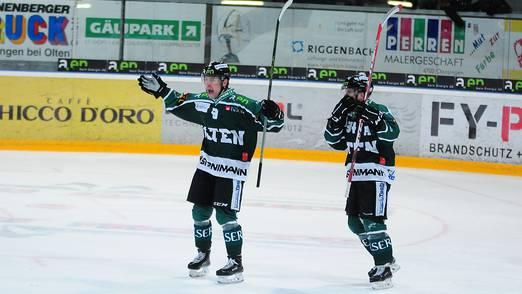 Polansky konnte sich als Doppeltorschütze auszeichnen lassen.