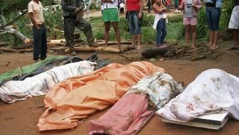 Dutzende Tote wegen Erdrutschen in Brasilien