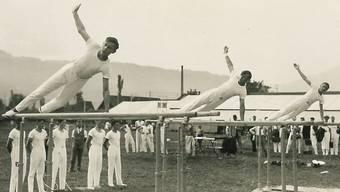 Am Rande eines Turntages im Jahr 1919 in Dietikon wurde der Schweizerische Katholische Turn- und Sportverband gegründet.