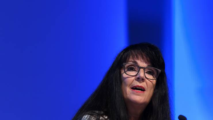 EVP-Parteipräsidentin Marianne Streiff.