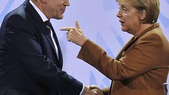 Wollen Afghanistan-Konferenz noch in diesem Jahr: Brown, Merkel und Sarkozy