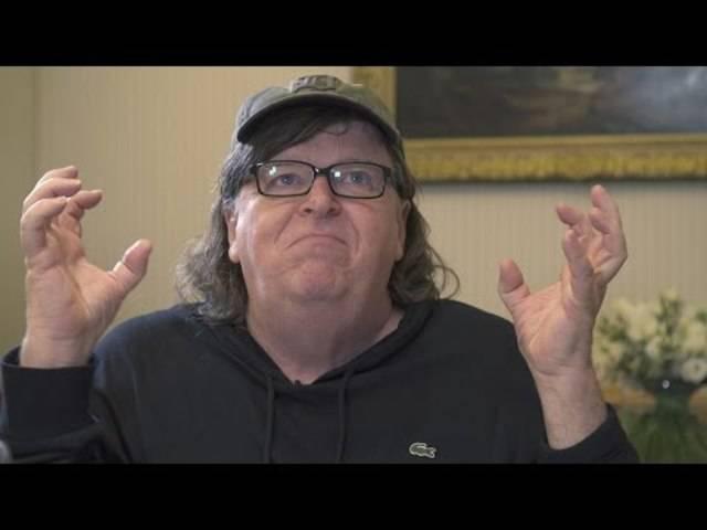 Filmemacher Michael Moore spricht im Interview über eine mögliche Präsidentschaft von Donald Trump