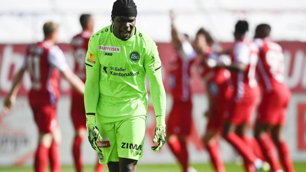 Keine Punkte für die Espen – St.Gallen verliert mit 0:3 gegen den FC Sion