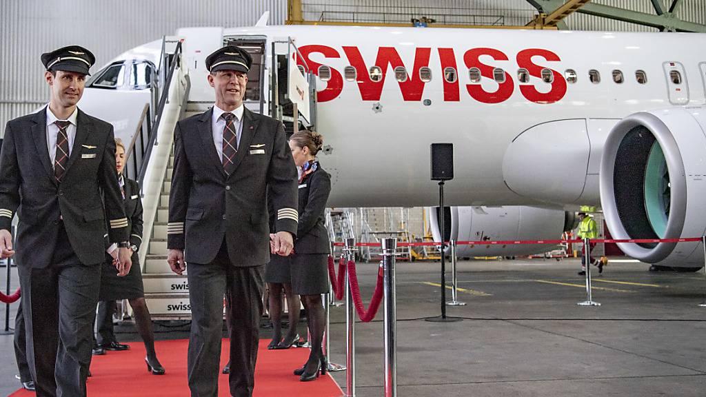 Swiss stellt ersten Airbus A320neo in Dienst