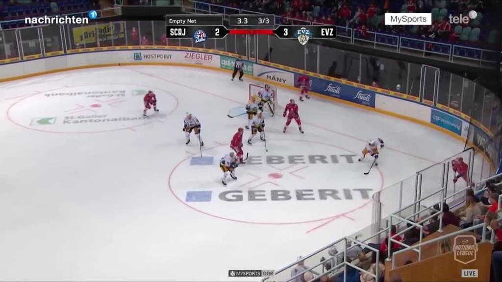 Erstes Saisonspiel EVZ in Rapperswil