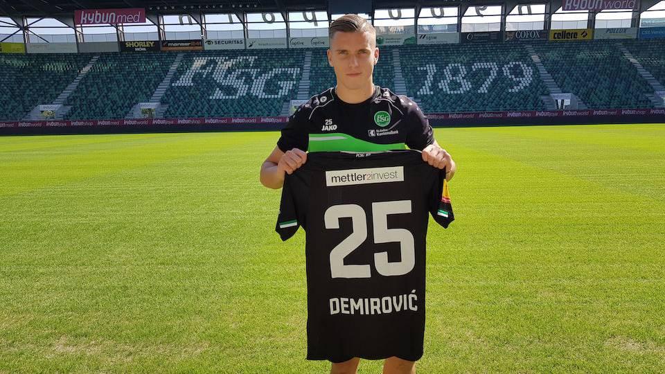 FC St.Gallen verpflichtet Ermedin Demirović