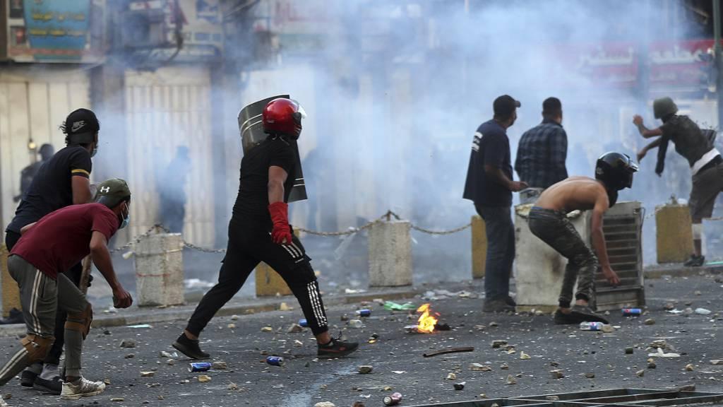 Demonstranten nach Einigung führender Kräfte im Irak getötet