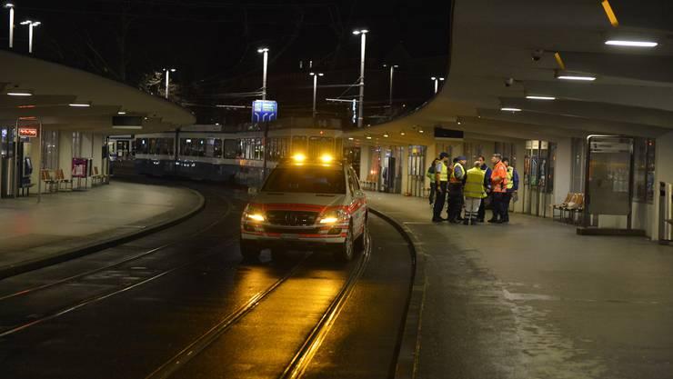 Der Unfall geschah beim Bahnhofquai