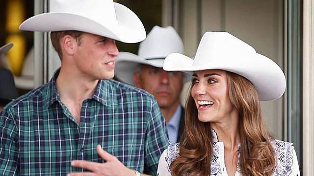 William und Kate zeigen sich in Calgary in ungewohnter Kleidung