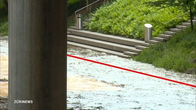 Sihl-Hochwasser: Grosser Alarm um nichts?