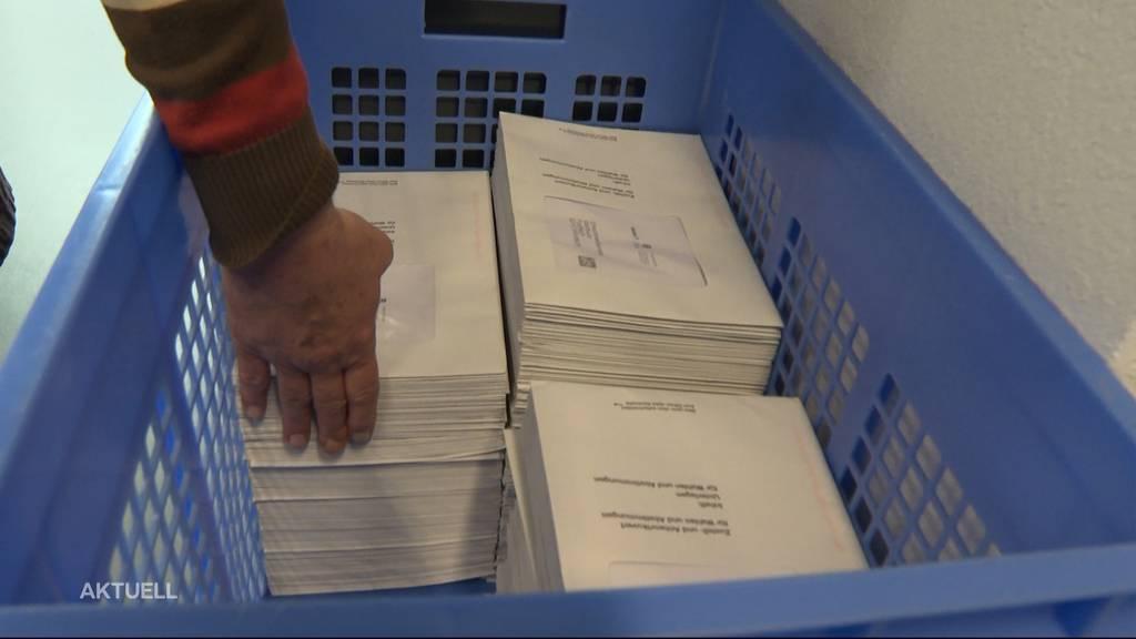 Interessieren sich die Aargauer nicht für die Gross- und Regierungsratswahlen?