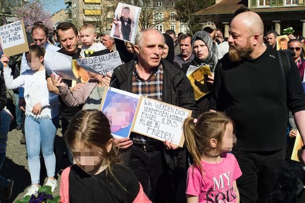 Gedenkanlass für den getöteten Siebenjährigen in Basel