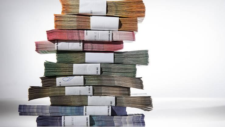 Nach Abzug verbleibt ein Gewinn von 25 Millionen Franken. (Symbolbild)