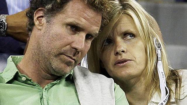 US-Komiker Ferrell mit seiner Frau Viveca Paulin (Archiv)