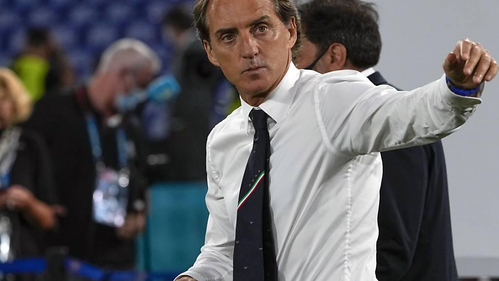 Als Nationaltrainer kriegt Roberto Mancini endlich Anerkennung