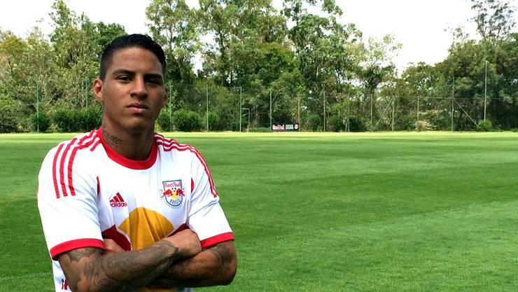 Carlos Vinicius Santos de Jesus, kurz Carlinhos, spielte zuletzt für Red Bull Brasil und wechselt leihweise zum FC Aarau.