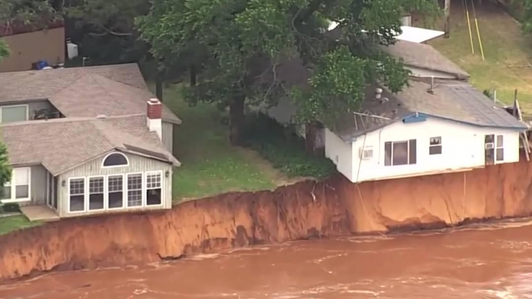 Verheerende Unwetter in den USA