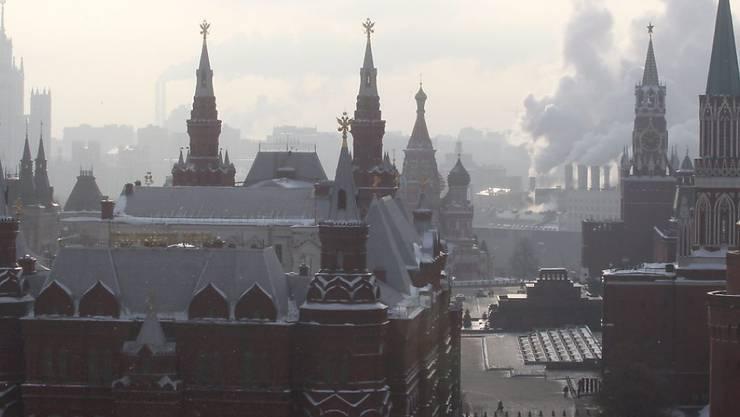 Eine Tochter des viel zitierten Kreml-Sprechers Dmitri Peskow absolviert derzeit ein Praktikum im EU-Parlament. (Archivbild)