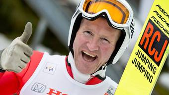 Immer gut gelaunt: Eddie the Eagle
