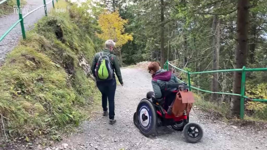 Mit dem Offroad-Rollstuhl über die Berge