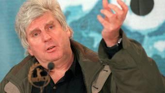 Der am Freitag verstorbene Waadtländer Regisseur Francis Reusser in einer Aufnahme von 1999. (Archivbild)