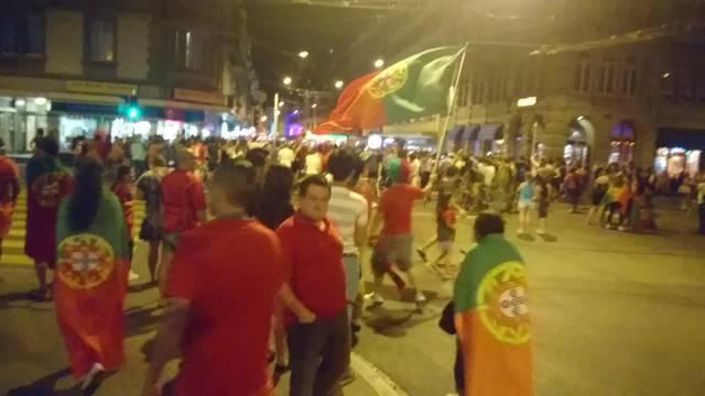 So feiern Portugiesen an der Zürcher Langstrasse den Europameistertitel
