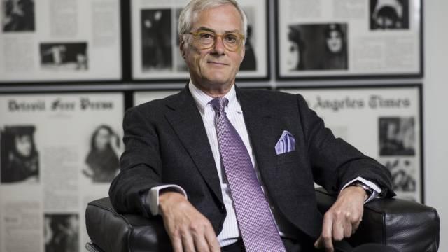 Michael Ringier, Präsident des Ringier Verwaltungsrates (Archiv)