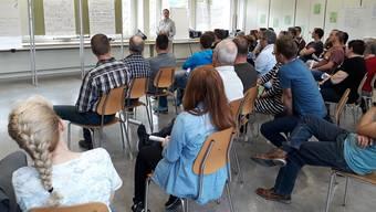 Die Zukunftskonferenz in Aedermannsdorf stiess auf reges Interesse.