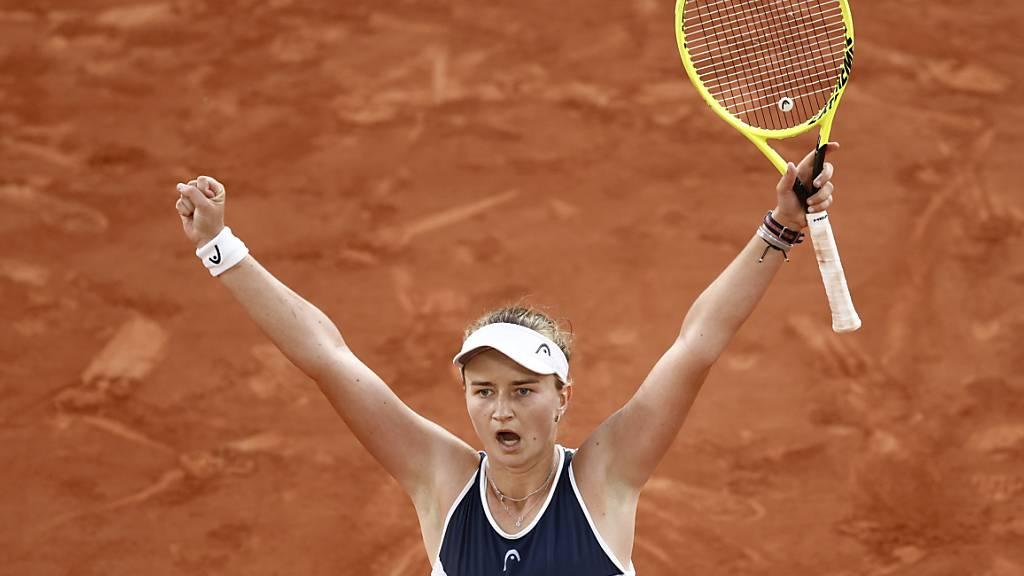 Barbora Krejcikova überwand auch die letzte Hürde und krönte sich völlig überraschend zur Grand-Slam-Siegerin