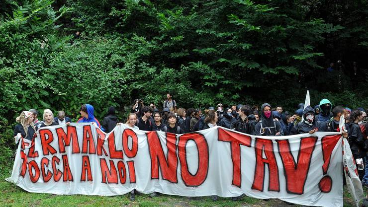 Die geplante Bahnstrecke zwischen Lyon und Turin ist seit Jahren ein heisses Politikum.