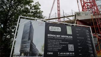 Neues Angebot: Im Grosspeter-Tower werden dereinst 11500 Quadratmeter zusätzliche Büroflächen angeboten.