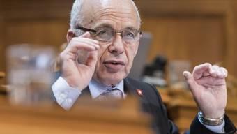 Finanzminister Ueli Maurer schwor den Ständerat auf den Kompromiss zum Finanzausgleich ein.