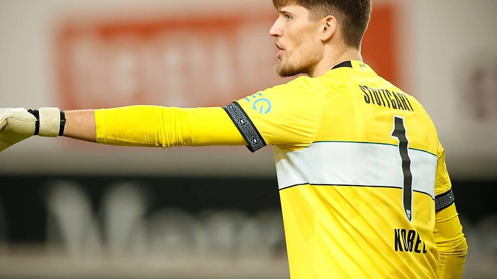 Gregor Kobel kommt mit Stuttgart gegen Köln trotz eines perfekten Starts nicht zum Sieg