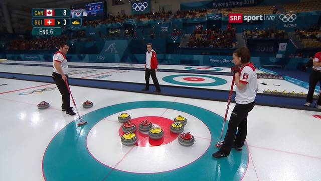 Olympia-Silber für Schweizer Mixed-Curler