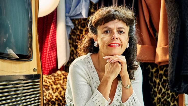 Geraldine Granget in ihrem Ladenlokal an der Tramstrasse in Suhr.