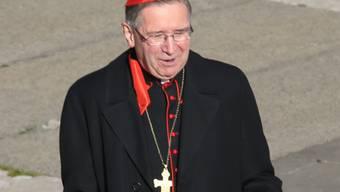 """""""Gebete sind nötig"""": Twitter-Botschaft von Kardinal Roger Mahony vor dem Konklave"""