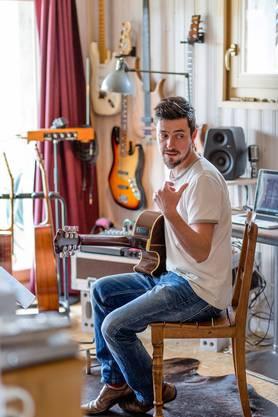 Sein neustes Album wurde in seinem eigenen Studio in Ueken aufgenommen.