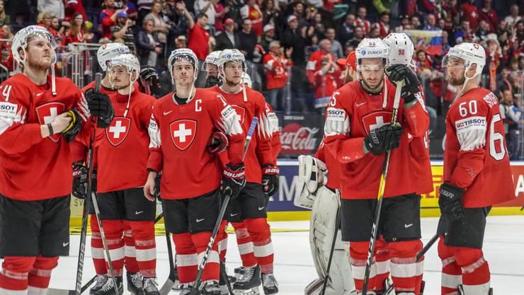 Die Schweiz unterliegt Russland mit 0:3.