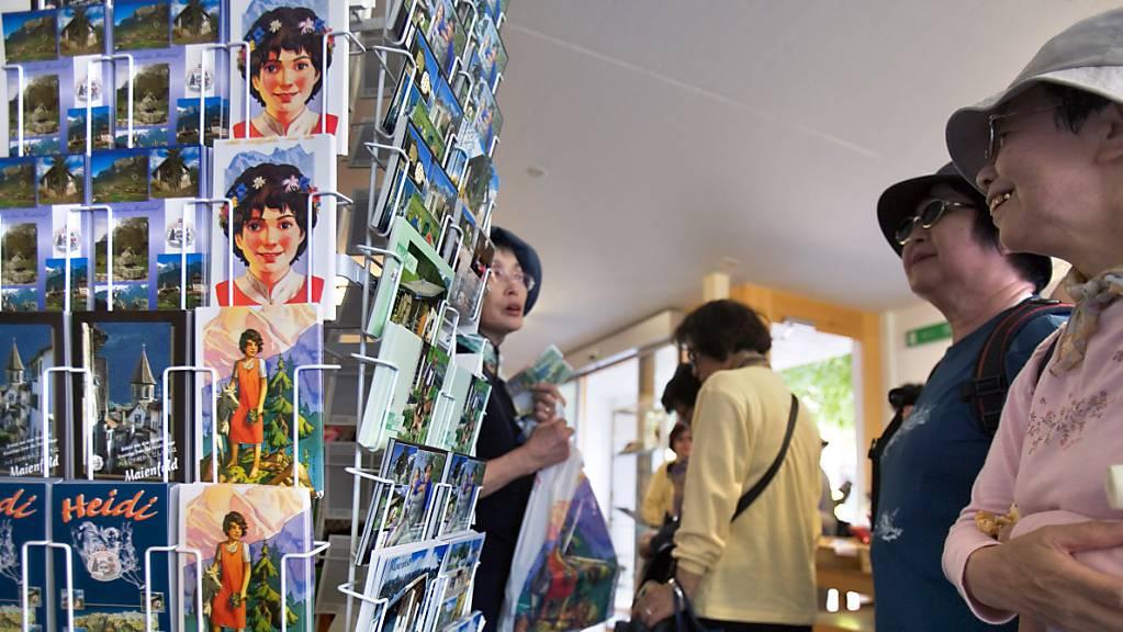 Das Heididorf in Maienfeld ist bei japanische Touristen besonders beliebt. In Ferienregion Flumserberg scheiterte ein ähnliches Projekt an der Urne. (Archivbild)