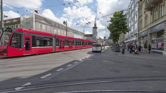 Wer von Bern nach Ostermundigen fahren will, kann ab 2027 das Tram nehmen.