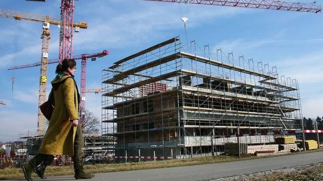 Floriert weiter: Der Wohnungsbau in der Schweiz (Archiv)