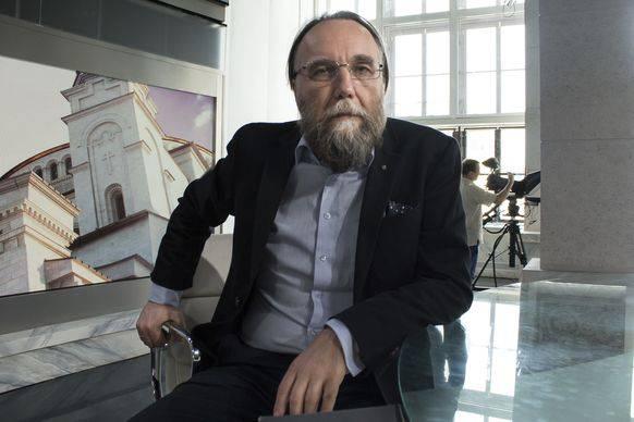 Glaubt an Trump: Russlands faschistoider Philosoph Alexander Dugin.