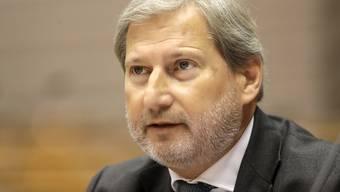 Die EU-Kommission hat am Donnerstag in Brüssel bestätigt, dass der österreichische EU-Kommissar Johannes Hahn auch unter der neuen EU-Kommission von Ursula von der Leyen das Schweiz-Dossier betreuen wird. (Archiv)